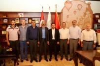 MHP Merkez İlçe Yöneticilerinden Belediye Başkanı Arı'ya Ziyaret