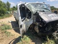 Akşehir'de Hemzemin Geçitte Kaza Açıklaması 4 Yaralı