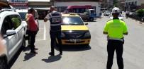 TRAFİK CEZASI - Bartın Emniyetinden Taksi Denetimi