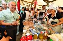 KAMİL OKYAY SINDIR - Başkan Soyer Kadifekale'de 'Üretici Pazarı' Açtı