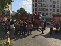 Çekmeköy'de Bir Apartmanda Yangın Paniği