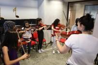 BAĞLAMA - Çocuk Sanat Merkezi Yaz Kurslarına Yoğun İlgi