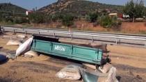 GÜNCELLEME - Devrilen Kamyon Traktöre Çarptı Açıklaması 2 Ölü