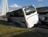 YAVUZ SULTAN SELİM - İstanbul'da otobüs bariyere çıktı!