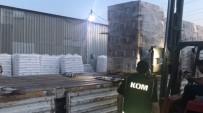 KAÇAK - İzmir'de Sahte İçki Operasyonu Açıklaması 14,4 Ton Etil Alkol Ele Geçirildi