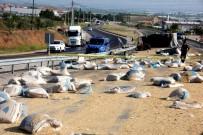 KARAYOLLARI - Kamyonla Traktör Çarpıştı Açıklaması 1 Ölü, 1 Ağır Yaralı