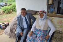 KARAKAYA - Kaymakam Soley Yaşlı Kadına Işık Oldu