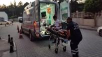 Konya'da Motosiklet Kazası Açıklaması 2 Yaralı