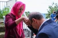 SEDDAR YAVUZ - Ordu Valisi Yavuz, Kıbrıs Şehidinin Eşini Ziyaret Etti