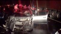 Otoyolda Feci Kaza Açıklaması 2 Ölü