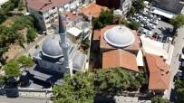 (Özel) Cami, Kilise Ve Sinagogun Aynı Sokakta Olduğu Kuzguncuk Havadan Görüntülendi