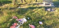 HAFTA SONU - Tekirdağ'da Piknik Alanında Çöp Tepkisi