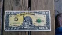 Uşak'ta 'Amerikan Rüyası'nın Sembolü 1 Milyon Dolarlık Banknot Ele Geçirildi