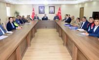 EMNİYET MÜDÜRÜ - Ardahan'da Acil Afet Durum Planı Toplantısı Yapıldı