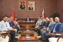 MILLIYETÇI HAREKET PARTISI - Başkan Tekin Rektör Taş'ı Ziyaret Etti