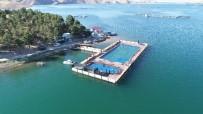 Denizi Aratmayan Keban Barajı Üzerinde Olimpik 'Yüzer Havuz'