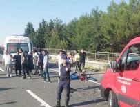 Edirne'de trafik kazası: 4 ölü, 2 yaralı