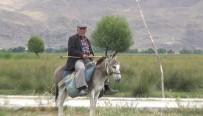 SU SIKINTISI - Sultan Sazlığı Bölgesinde 78 Yaşında Olmasına Rağmen Çobanlık Yapıyor