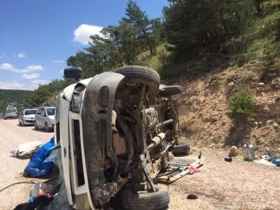 Trafik Kazası 9 Yaralı