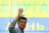 ANAVATAN PARTISI - Ukrayna'da Genel Seçimi De Zelenskiy Kazandı