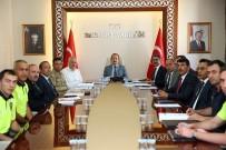 EMNİYET MÜDÜRÜ - Vali Ali Hamza Pehlivan Başkanlığında Trafik Güvenliği Ele Alındı