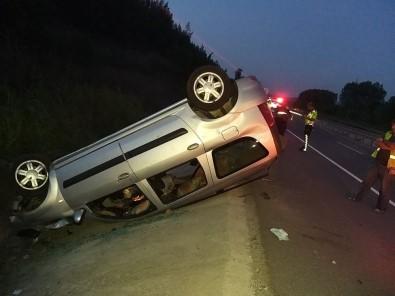 Bilecik'te Trafik Kazası Açıklaması 6 Yaralı