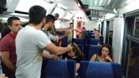 HAYVAN - Evcil Hayvanıyla Binmek İstediği Trene 2 Saat Rötar Yaptırdı