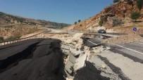 Nissibi Köprüsü'ne Ulaşım Tek Şeritten Sağlanıyor