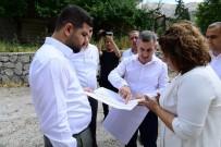 BELEDİYE BAŞKANI - Otopark Projesi İle Gündüzbey'in Trafik Yükü Hafifleyecek