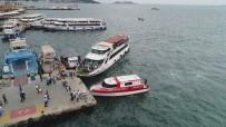 SAĞLIK PERSONELİ - (Özel) Deniz Ambulansının Zamanla Yarışı Havadan Görüntülendi