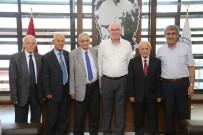 Türkiye Emekliler Derneği'nden Kazım Kurt'a Ziyaret
