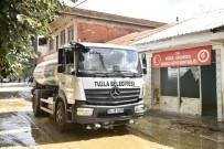 Tuzla Belediyesinden Selden Etkilenen Köylere Destek