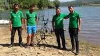 Uşak'ta Olta Balıkçıları Kıyasıya Yarıştı