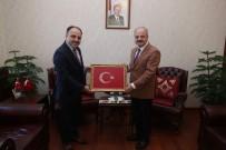 TÜRKIYE ŞEKER FABRIKALARı - Vali Çakacak, Türkiye Şeker Fabrikaları A.Ş. Genel Müdürü Alkan'ı Kabul Etti