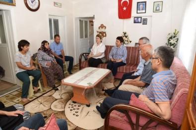 Vali Deniz, Şehit Babası Osman Akoral' I Ziyaret Etti