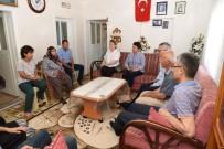 GEÇMİŞ OLSUN - Vali Deniz, Şehit Babası Osman Akoral' I Ziyaret Etti