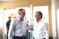 KEMER BELEDİYESİ - Başkan Esen, Necati Topaloğlu'nu Ağırladı