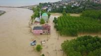 BALIKÇI TEKNESİ - Düzce'deki  Selin Hasarı Gün Yüzüne Çıktı
