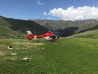 Helikopter Ambulansın Yoğun Yaz Mesaisi
