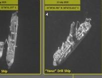 SİSMİK ARAŞTIRMA GEMİSİ - İsrail, Türkiye'ye ait gemilerin görüntülerini ve konumunu yayınladı