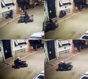 (Özel) Üsküdar'da 28 Saniyede Motosiklet Hırsızlığı Kamerada
