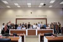 CEMAL AKIN - Staj Gören Öğrencilerle Toplantı