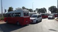 ÇEVİK KUVVET POLİSİ - Yolu Trafiğe Kapatıp, Kontak Kapattılar