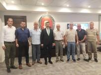 Başkan Şenol, Başkanı Yılmaz'ı Ziyaret Etti