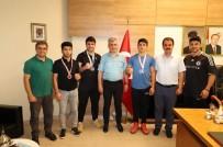 Cizreli Sporculardan Kaymakam Arıcan'a Ziyaret