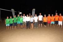 Plaj Voleybol Turnuvası Başladı