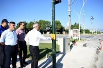 Yenişehir'de Bas-Geç Trafik Işıkları Hizmete Başladı
