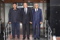 Eski Bakan Güney Ve Milletvekili Battal'dan Başkan Pekmezciye Ziyaret