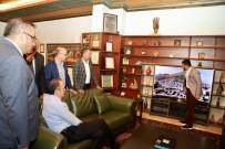 Kültür Varlıkları Ve Müzeler Genel Müdürü Gökhan Yazgı, Başkan Arı'yı Ziyaret Etti