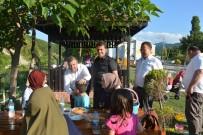 YÜRÜYÜŞ YOLU - Maviş, Türkeli'deki Yatırımları İnceledi